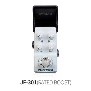 JF-301 RATED BOOST 클린 부스터